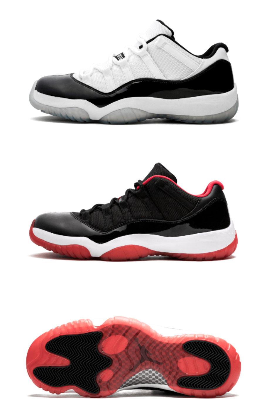 Air Jordan 11 Low,AJ11,AV2187- 康扣 + 黑红!没想到 AJ11 的「王炸配色」提前来了!