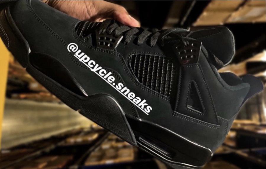 AIr Jordan 4,AJ4,Black cat,发售  复刻实物首次曝光!真正的黑猫 Air Jordan 4 刚刚出现...