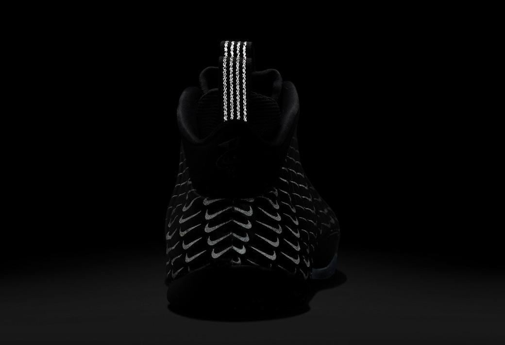 Foamposite,Foamposite One,Nike  这才叫暗藏杀机!「满钩喷」的全反光效果太炫了!