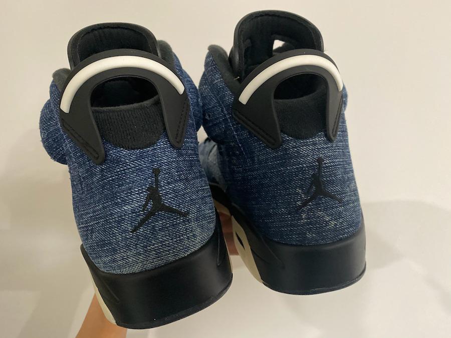 AJ6,Air Jordan 6,CT5350-401,发售 今年最后一双人气 AJ 正代!丹宁 Air Jordan 6 又有新图曝光