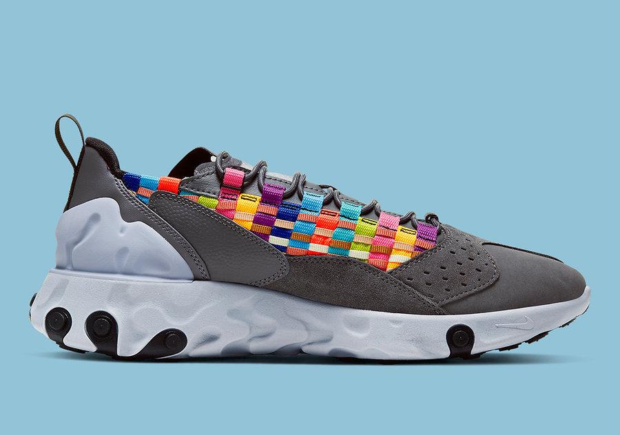 Nike,react,Sertu,发售 物料奢华的拼接鞋面!React Sertu 新配色你也能买!
