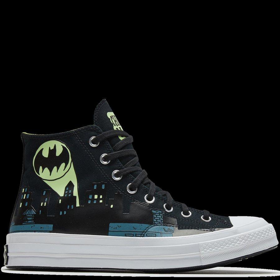 Converse,ChinaTown Market,Batm 高规格三方联名,匡威总有新惊喜!「蝙蝠侠」系列现已发售!