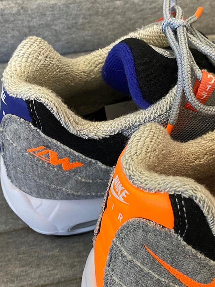 Loopwheeler,Nike,Air Max 95,Ai  实物首度曝光!Loopwheeler x Nike 联名本月即将发售!