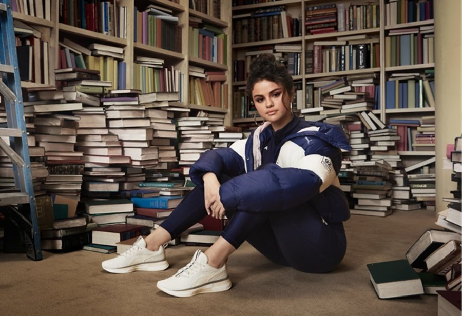 Selena Gomez,Puma  赛琳娜最新联名系列!SG x PUMA 第三季现已发售!