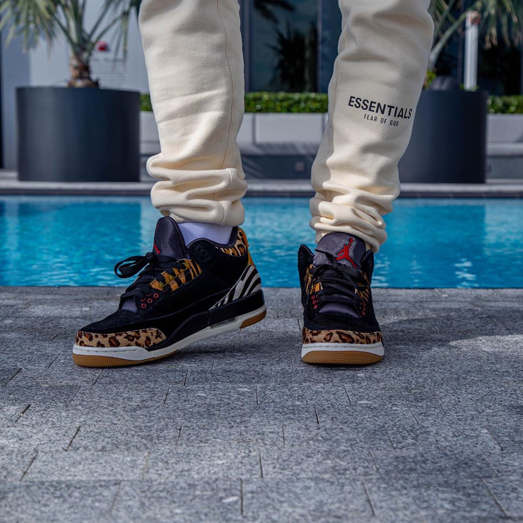 Air Jordan 3,AJ3,CP3,发售,CK4344 保罗上脚动物园 Air Jordan 3!国外网友:这配色真香!