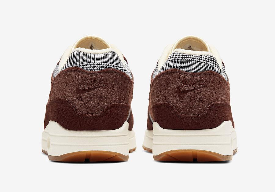 Nike,Air Max 1,CT1207-200,发售  复古绅士气质,非常适合秋冬穿!全新配色 Air Max 1 下月发售!