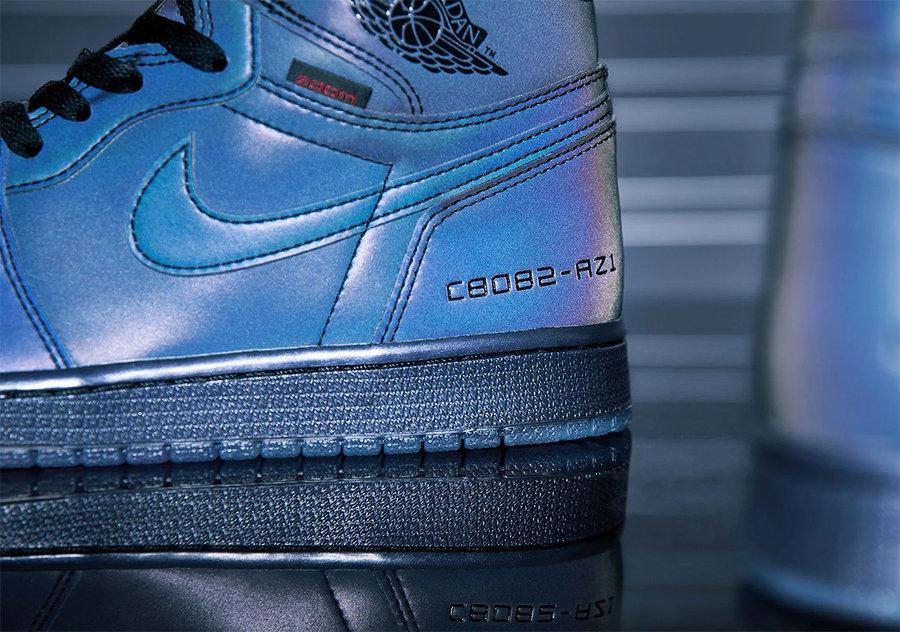 Air Jordan 1,AJ1,BV0006-900,发售 经典造型 + 极致脚感!这双有 Zoom 的 AJ1 本周末发售!