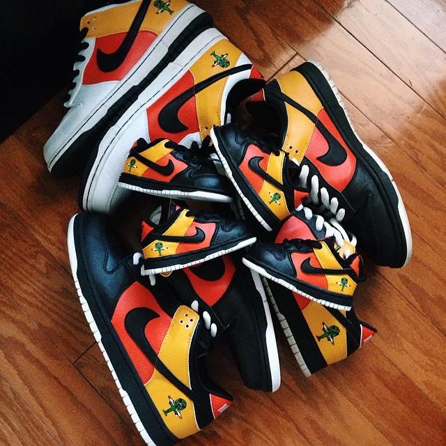 Nike,SB Dunk Low,Raygun,BQ6832 为纪念 Nike SB 已故创始人,这双「天价神鞋」月底将复刻回归!