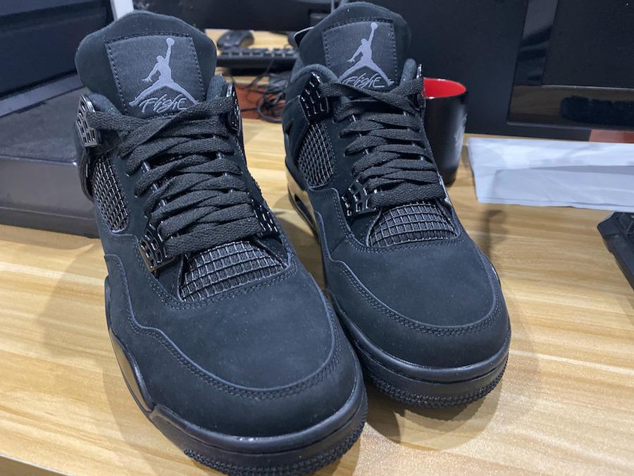 AIr Jordan 4,AJ4,Black cat,发售 还原超多细节!等了 13 年黑猫 Air Jordan 4 可算复刻了!