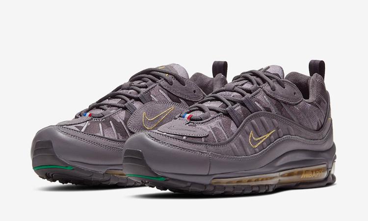 Air Max 98,Nike 姆巴佩生日专属!这双 Air Max 98 你打几分?