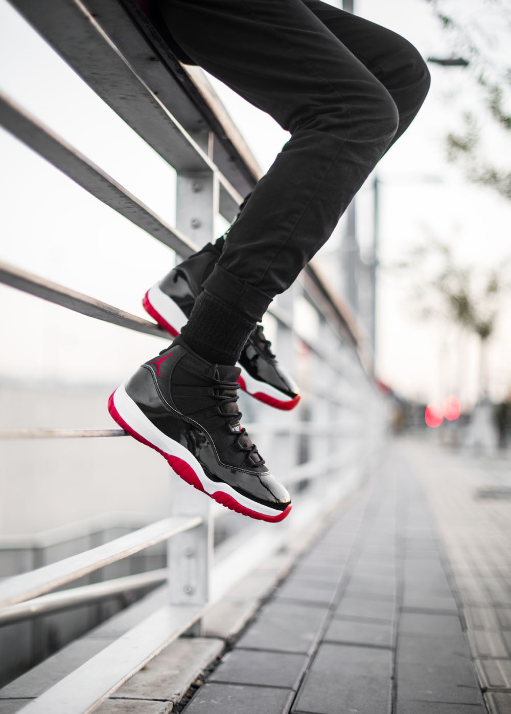 AJ11,Air Jordan 11,  黑红 Air Jordan 11 货量如何?看看美国「店铺地图」就知道了...