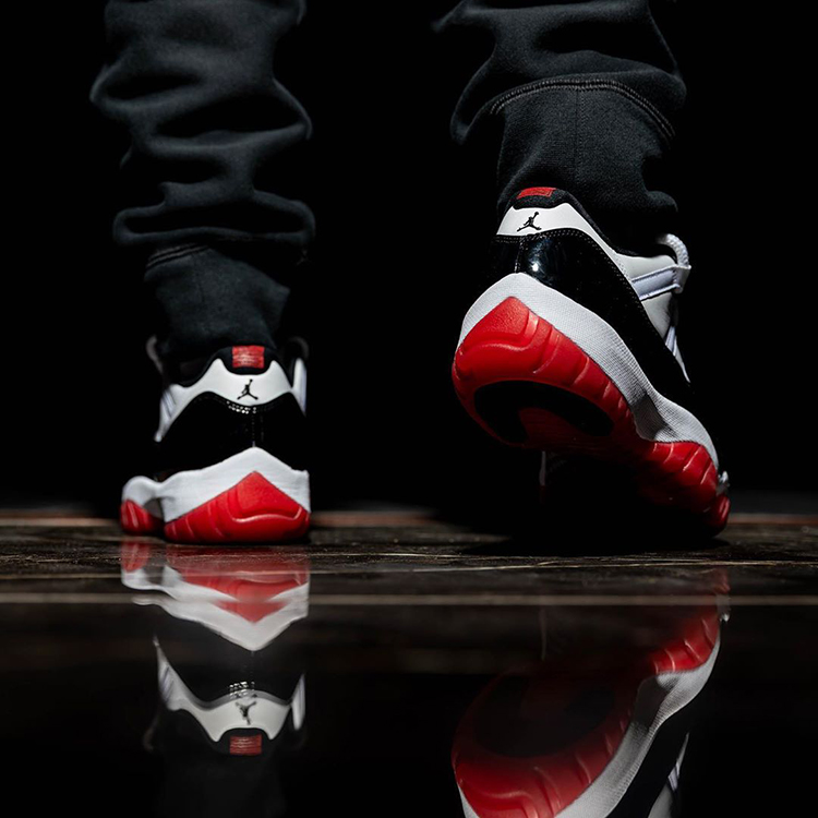 AJ,AJ11,Air Jordan 11 Low,V218 康扣 + 黑红!上脚效果炸裂!AJ11 Low「王炸配色」明年发售!