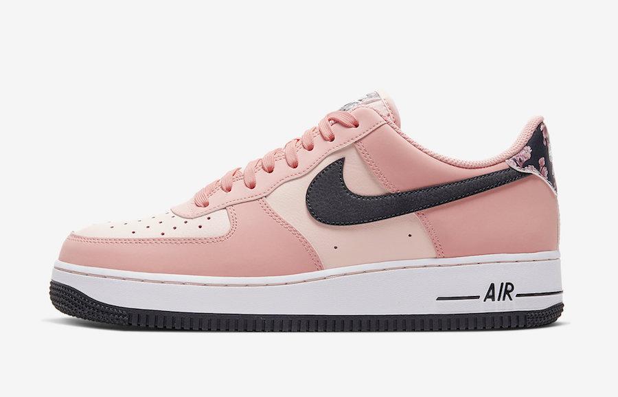 Nike,AF1,Air Force 1,CU6649-10 2020 年第一双鞋就这么美!樱花 Air Force 1 颜值有点高