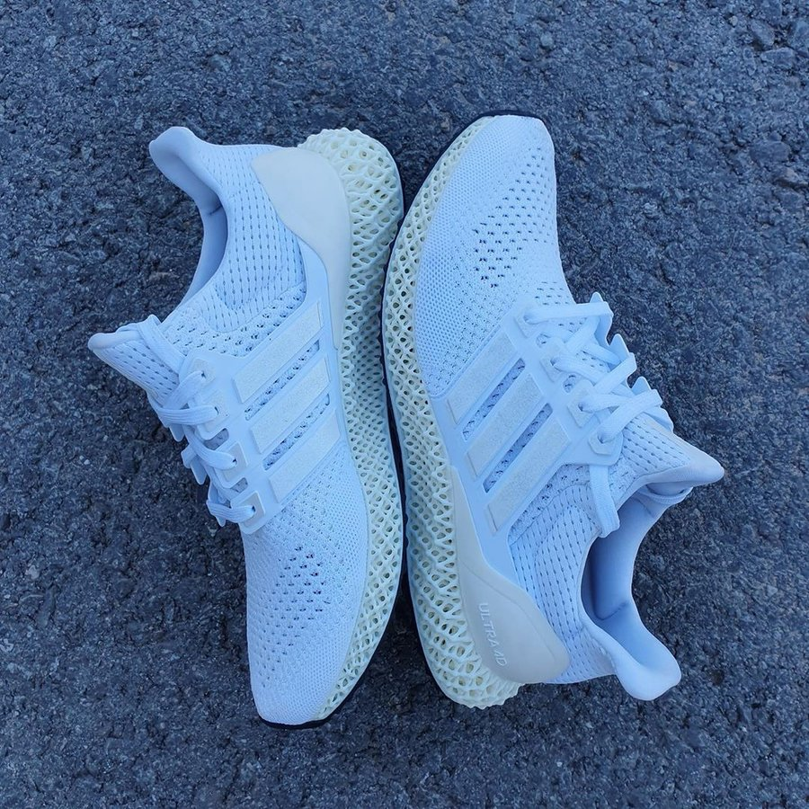 Ultra 4D,adidas,Futurecraft 4D 搭载「黑科技」的金字招牌跑鞋!全新 Ultra 4D 系列首度曝光!