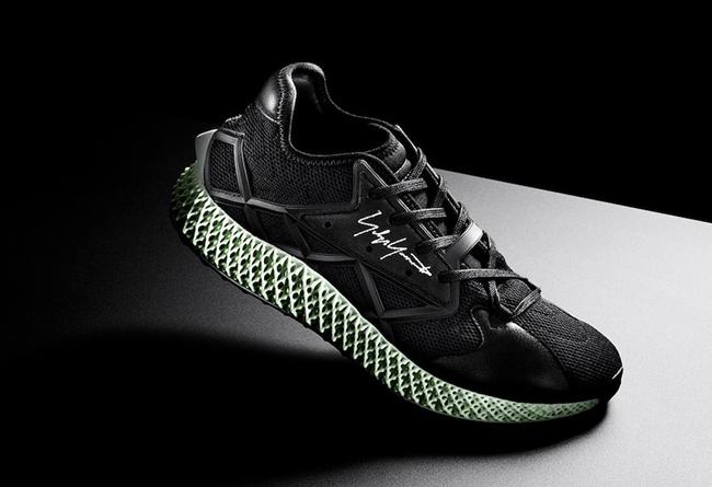 adidas,Y-3,Runner 4D Y-3 与 4D 结合!全新 adidas Y-3 Runner 4D 即将发售!