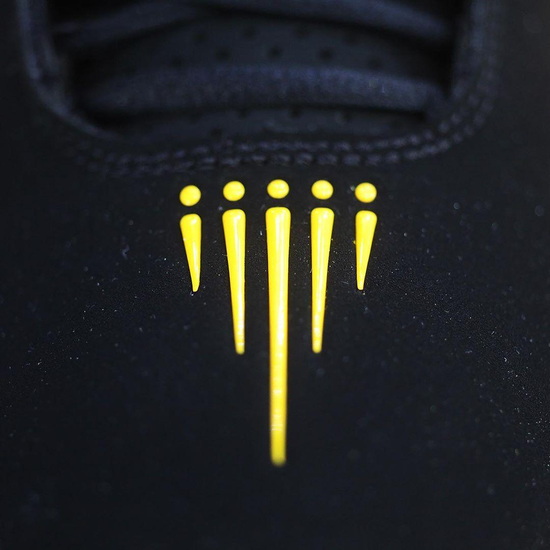 Shox BB4,发售,AT7843-002 高规格牛巴革鞋面!黑黄 Nike Shox BB4 下月发售