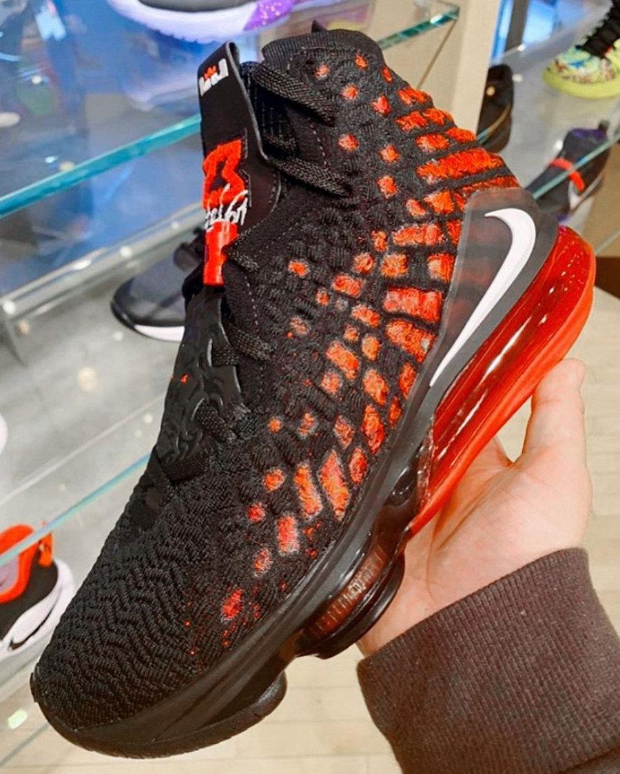 """Nike,LeBron 17, 居然是黑红 AJ6 设计!全新配色 LeBorn 17 """"Infrared"""" 首度曝光!"""