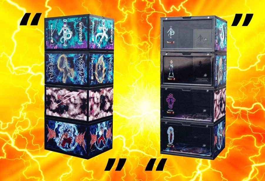 DBRukia,龙珠,鞋盒,承载,着,日本,经典,动漫,《, 情怀经典华丽呈现!DBRukia「龙珠超鞋盒」发售信息终于来了!