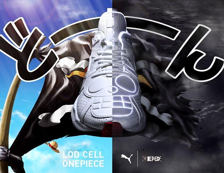 PUMA,Cell,Venom,372742-01,发售  「草帽海贼团」标志!《海贼王》 x PUMA 联名明日发售!