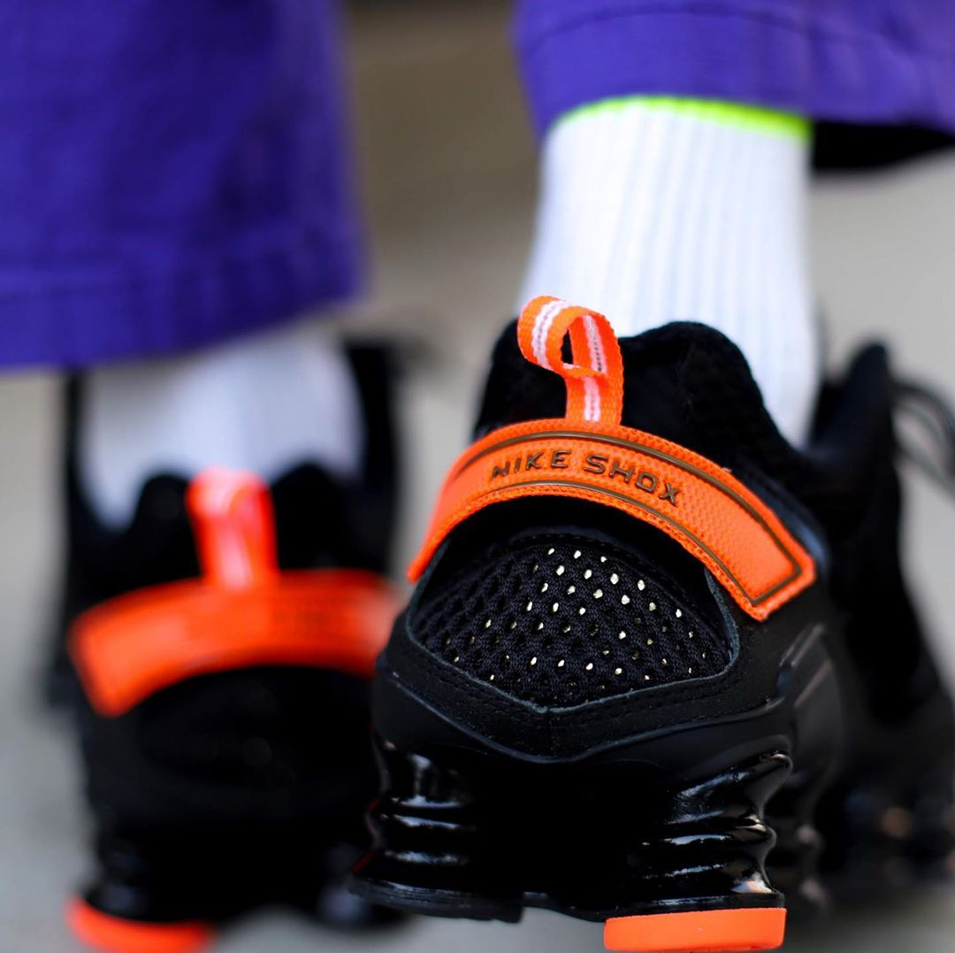 Nike,Shox,TL,CK2085-001,CK2085 街头气质十足,潮人穿搭新宠!亮眼撞色 Nike Shox TL 下周发售!
