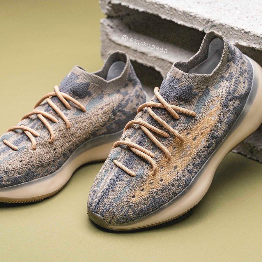 adidas,Yeezy Boost 380,上脚 全新 Yeezy Boost 380 上脚首次曝光!这双你觉得好看吗?
