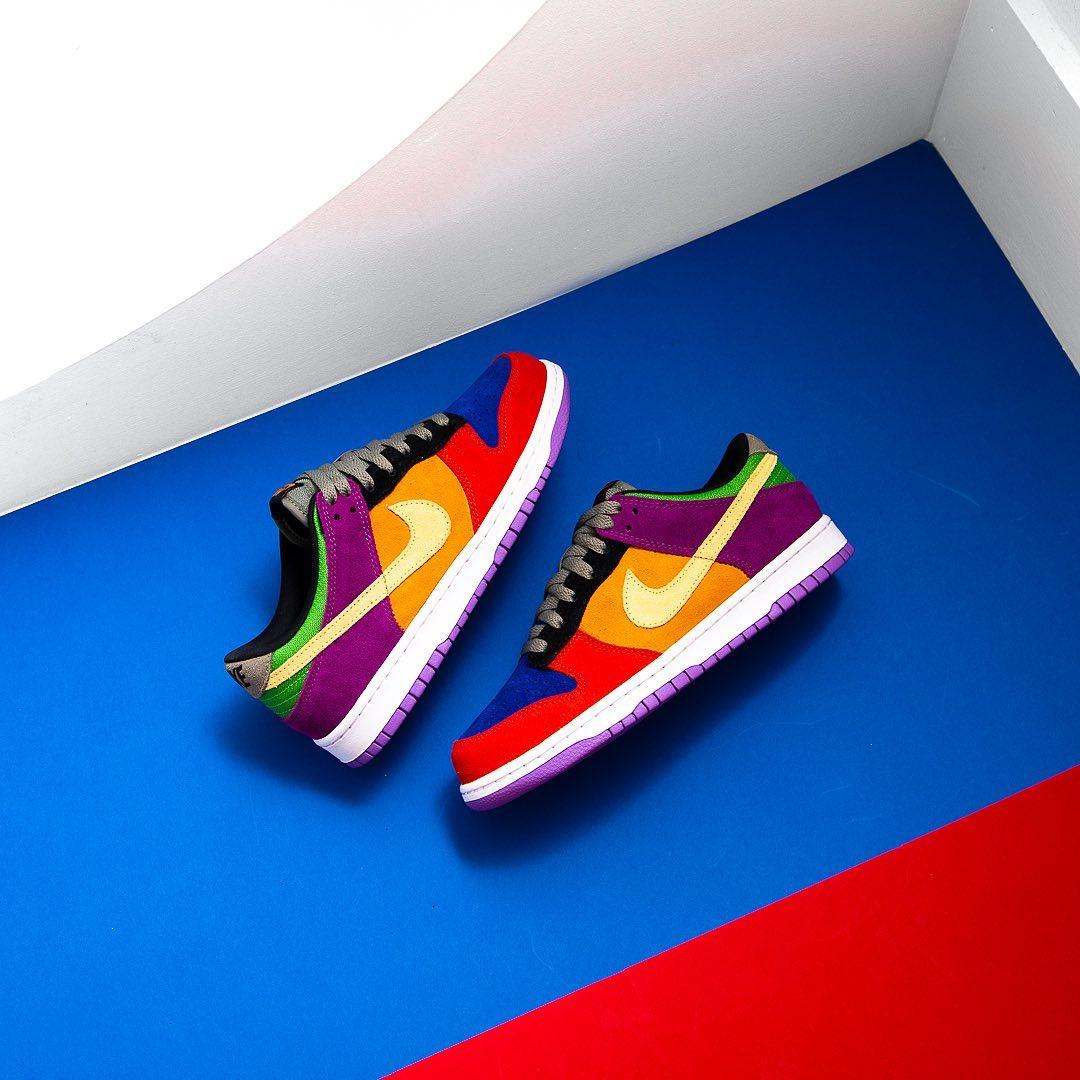 Nike,Dunk Low,Viotech,发售 上脚彩蛋 Dunk Low!周杰伦怎么每天都有新鞋穿...