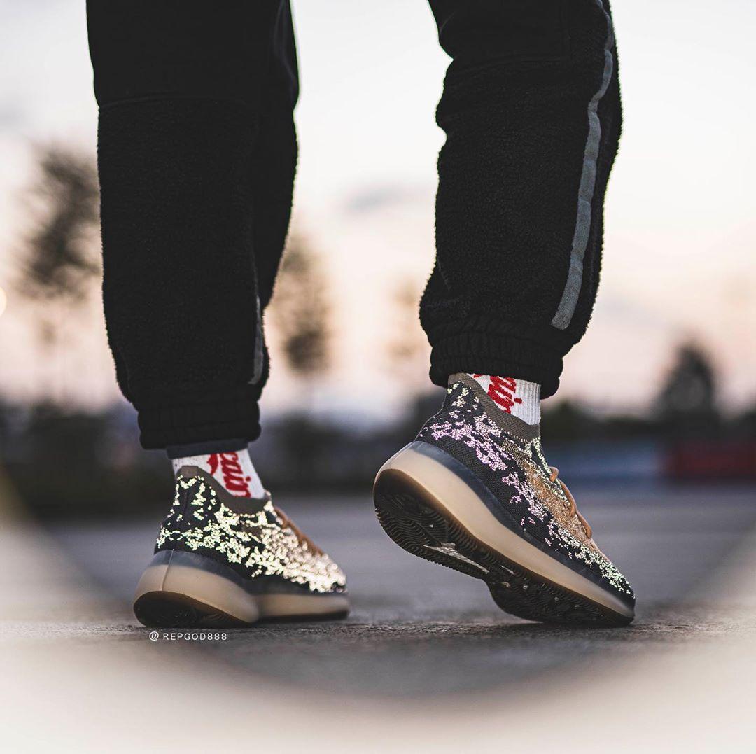 adidas,Yeezy Boost 380 满天星 Yeezy Boost 380 首次曝光!你给打几分?