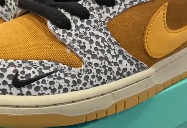 Nike,Dunk SB,发售,safari 重磅联名实物曝光!明年 Dunk SB 的大招抢先带你看!