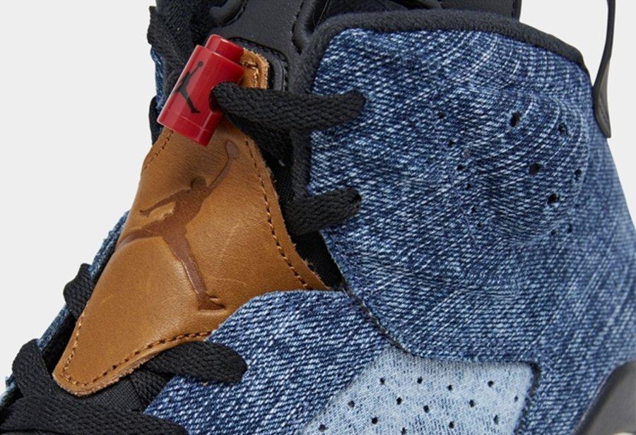 AJ,AJ6,Air Jordan 6,Washed Den 水洗牛仔 Air Jordan 6 官图释出!预计将于本月发售!