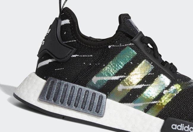 adidas,NMD,NMD R1,Meteor Showe 金属质感+幻彩鞋身!adidas 爆款球鞋迎来吸睛配色登场!