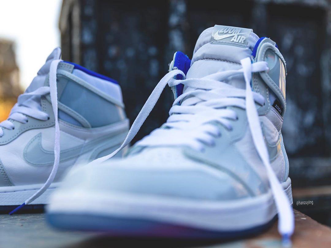 Air Jordan 1 Zoom,R2T,发售 Air Jordan 1 Zoom 再曝美图!国外网友:平民版 Dior 联名!