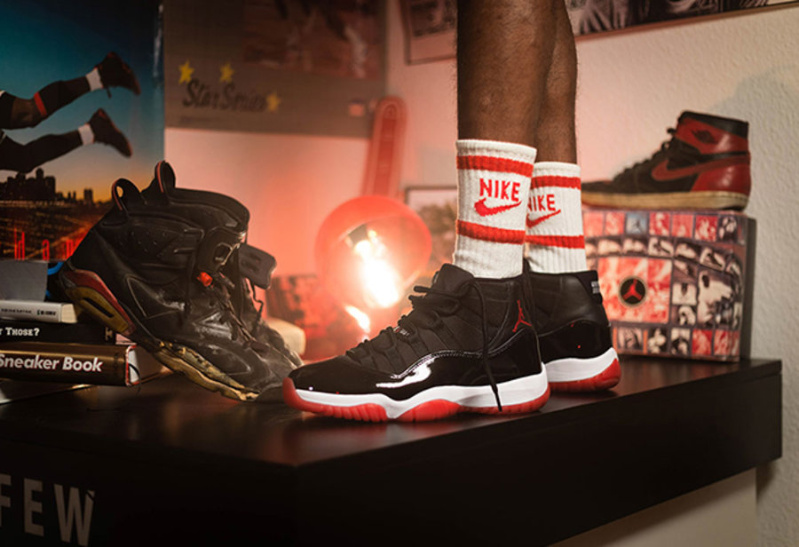 AJ11,Air Jordan 11  50 张黑红 Air Jordan 11 上脚美图一次看到爽!穿得帅竟然这么简单!