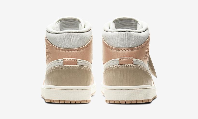 拼接,鞋面,奢华,彰显,全新,Air,Jordan,Mid, 拼接鞋面奢华彰显!全新 Air Jordan 1 Mid 官图释出