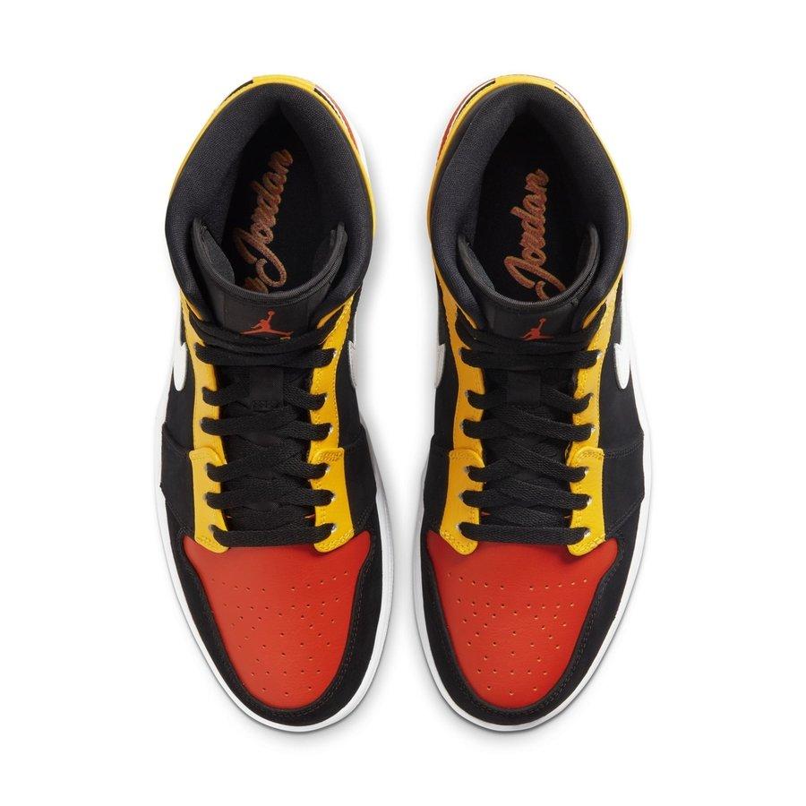 AJ1,Mid,Air Jordan 1 Mid 糖果色调 + 简洁全息!2 双新配色 Air Jordan 1 Mid 首度曝光!