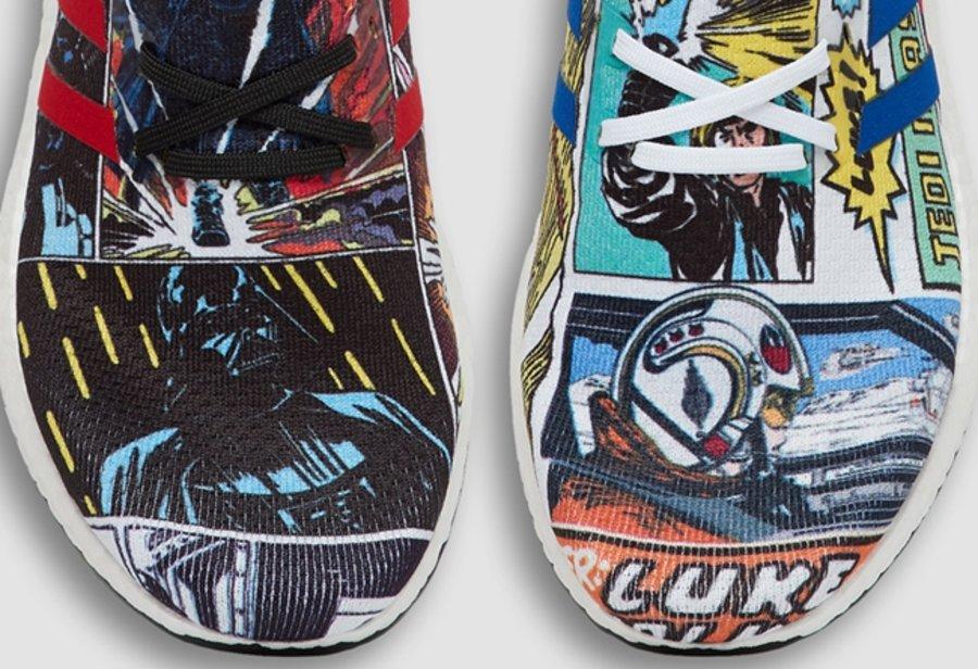 adidas,Speedfactory AM4,Star W  原汁原味的星战漫画!adidas AM4 x Star Wars 即将发售!