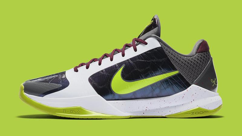 ZK5,Zoom Kobe 5,Nike,CD4991-10 无数人心中的最帅战靴!小丑配色 Zoom Kobe 5 下周登场!