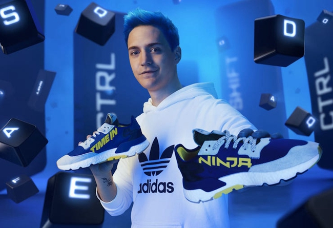 Ninja,adidas,Nite Jogger,Time 游戏打好也能有联名鞋!全新 Ninja x adidas 本月发售!