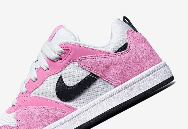 Nike,SB Alleyoop 高规格材质打造鞋身!这双粉色系 Nike SB Alleyoop 你打几分?