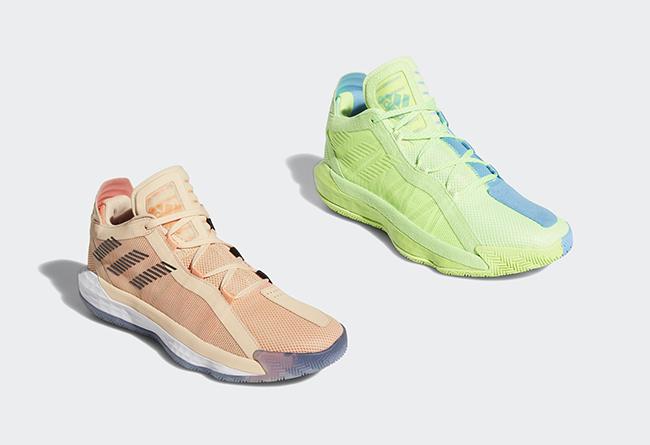 DAME 6,adidas  鲜艳糖果色调!Dame 6 又有新配色!国内发售还得等等!
