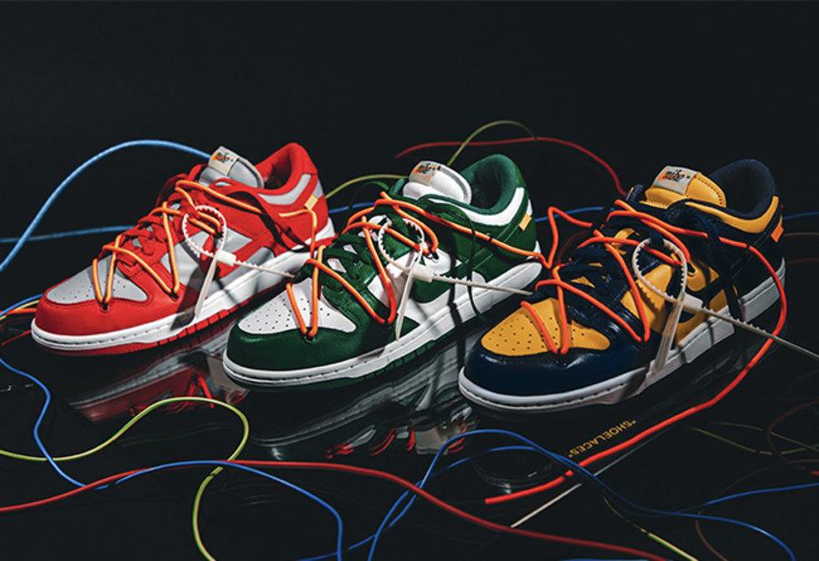 OW,Dunk,OFF-WHITE,Nike,发售 市价已经 4000+!今早的 OW x Dunk 你抢到了么?
