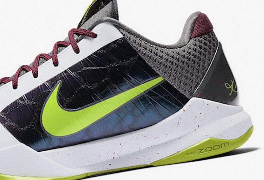 Kobe 5 Protro,Nike,ZK5,发售,CD49 欧文同款缓震!小丑 Kobe 5 Protro 配置疑似曝光!发售推迟!