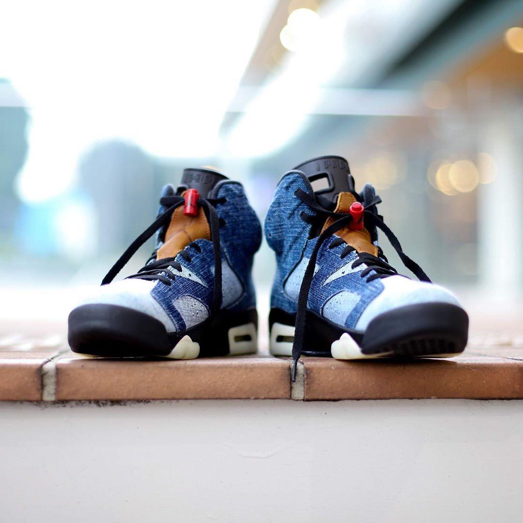 Air Jordan 6,AJ6,发售,CT5350-401 不输 Levi's 联名!水洗丹宁 Air Jordan 6 下周发售