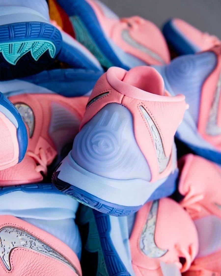 Concepts,Nike,Kyrie 6,Pink Tin 古埃及元素再度登场!欧文 CNCPTS x Kyrie 6 细节美图曝光