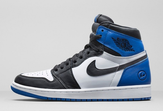 AJ1,Air Jordan 1,555088-041,发售  「大闪电」联名的最佳替代款!黑蓝脚趾 Air Jordan 1 明年登场!