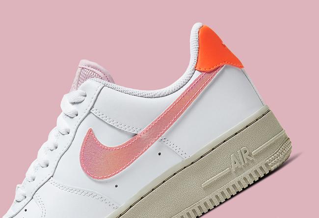 Nike,Air Force 1 Low,CV3030-10 珊瑚粉色点缀!这双全新配色 Air Force 1 你打几分?