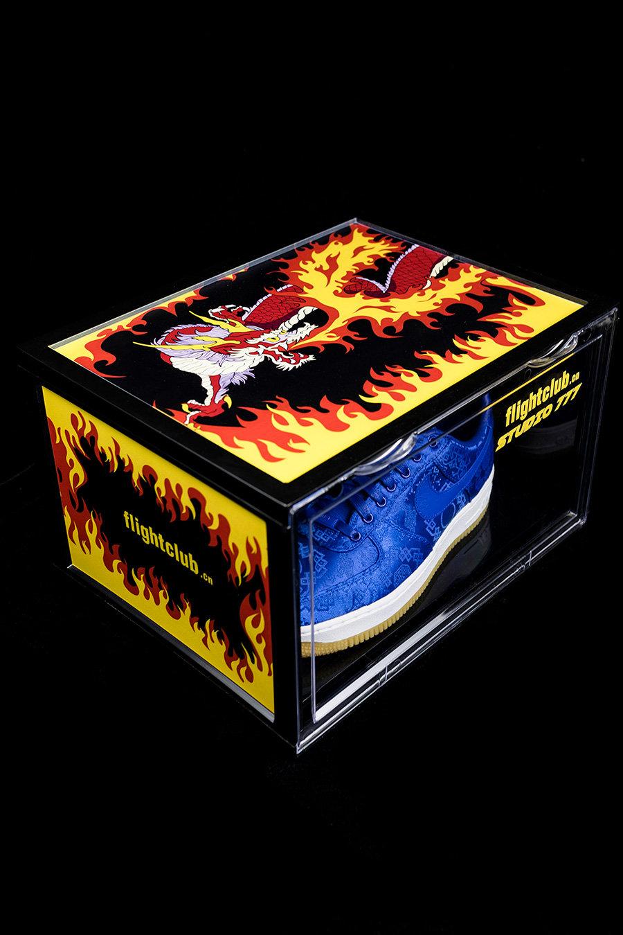 CLEAN ONE,鞋盒 ¥19 买 FC「火焰神龙」三方联名鞋盒!手慢无!