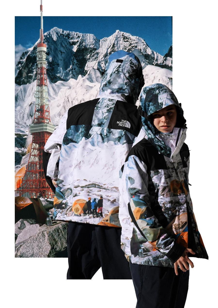 INVINCIBLE,The North Face,TNF,  不输 Supreme 联名!INVINCIBLE x TNF 即将发售!