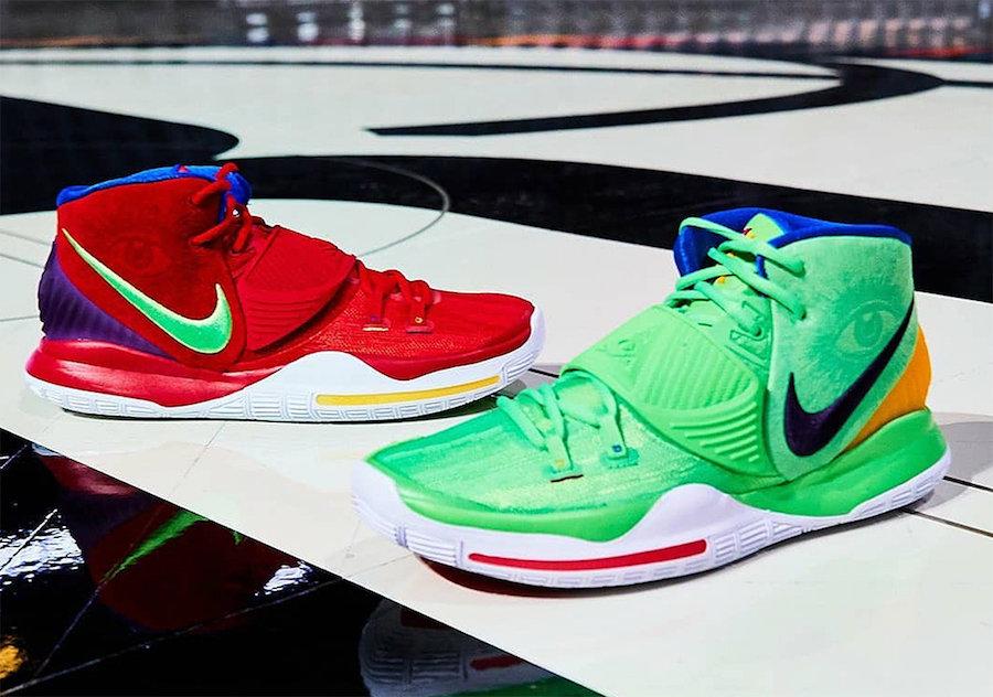 Nike,Kyrie 6,PE, 抢眼撞色鸳鸯!邀请赛配色 Kyrie 6 PE 首度曝光!