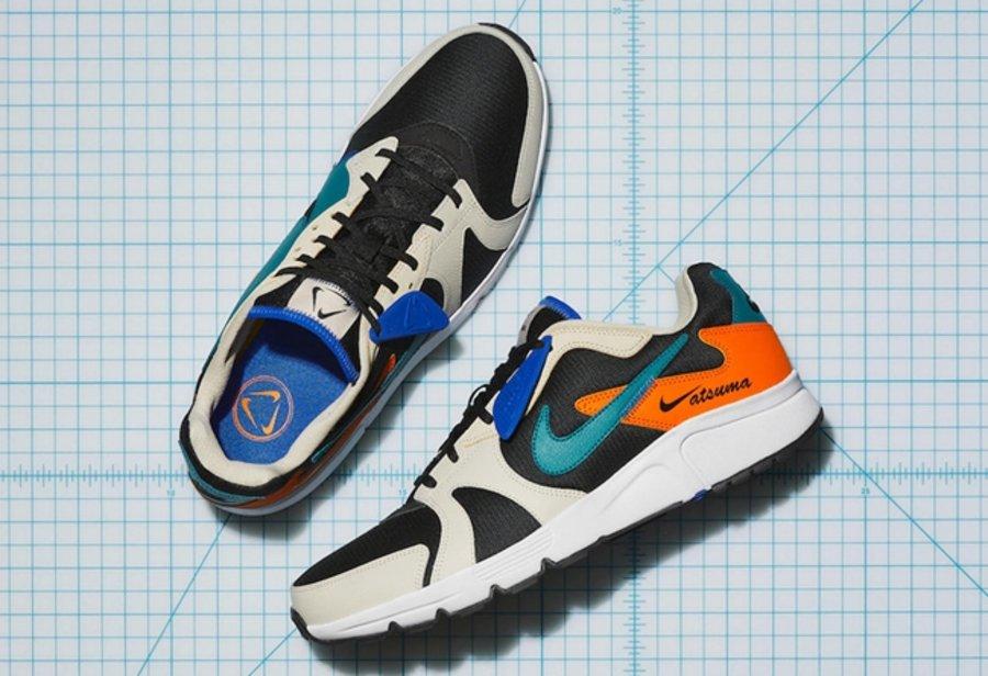Nike,Atsuma 鸳鸯拼接 + 镂空设计有点帅!全新 Nike Atsuma 即将发售!