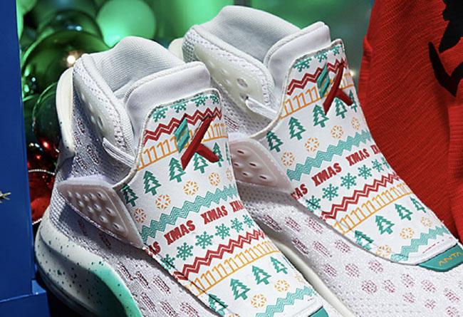 ANTA,GH1,海沃德KT5,XMAS,圣诞,112011 汤普森「圣诞战靴」无预警发售!还有海沃德 1 代悄然上架!